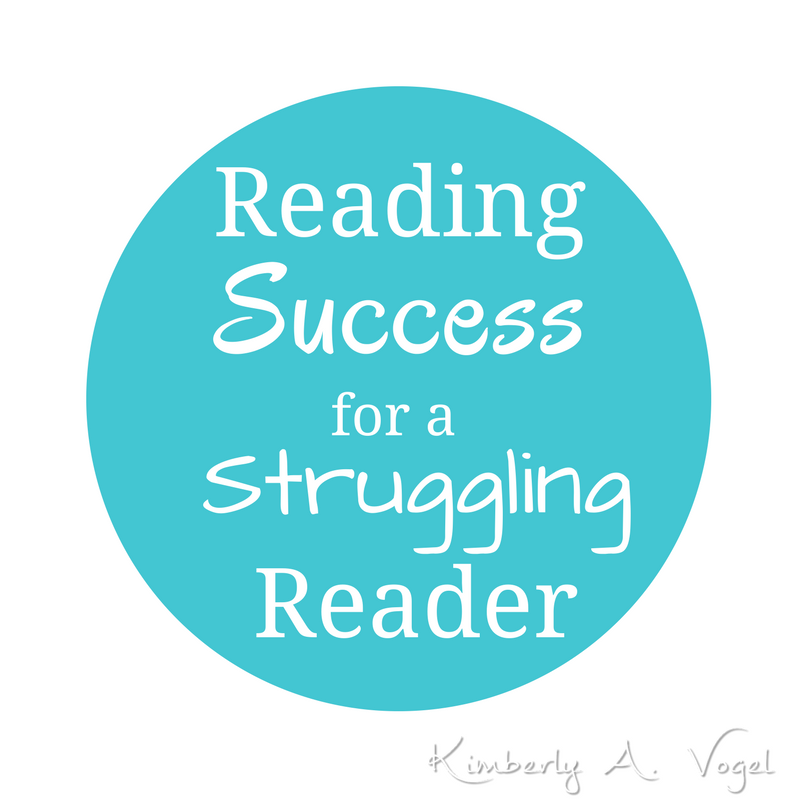 Reading Success for a Struggling Reader