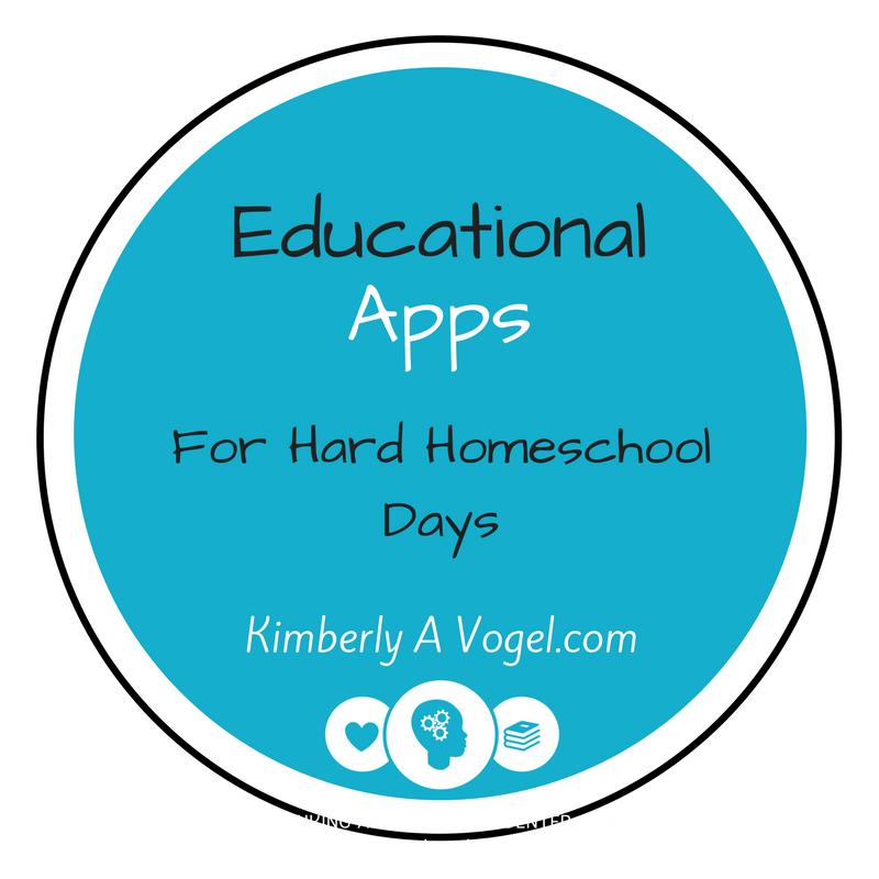 Educational Apps for Hard Homeschool Days