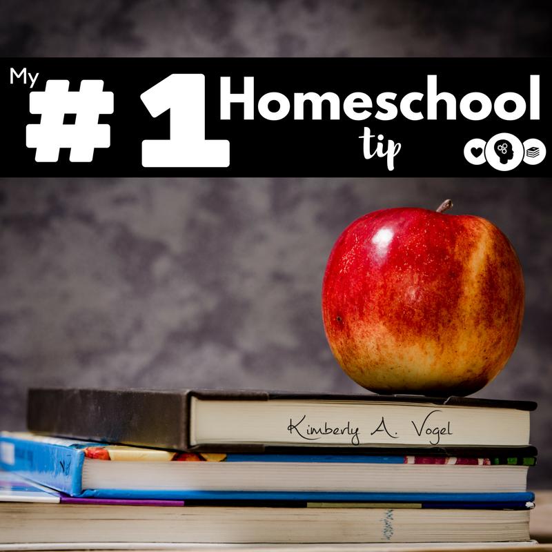 My #1 Homeschool Tip