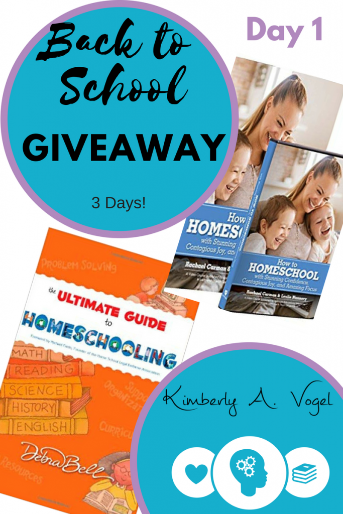 Homeschool Guide and How to Homeschool Giveaway