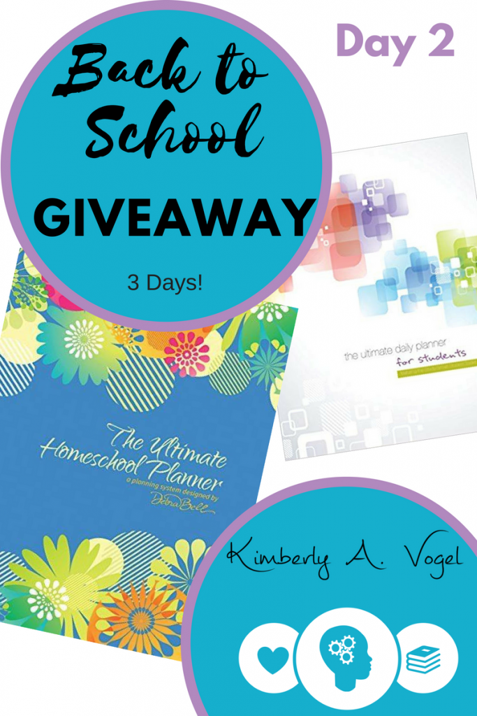 Back to School Homeschool Planner Giveaway