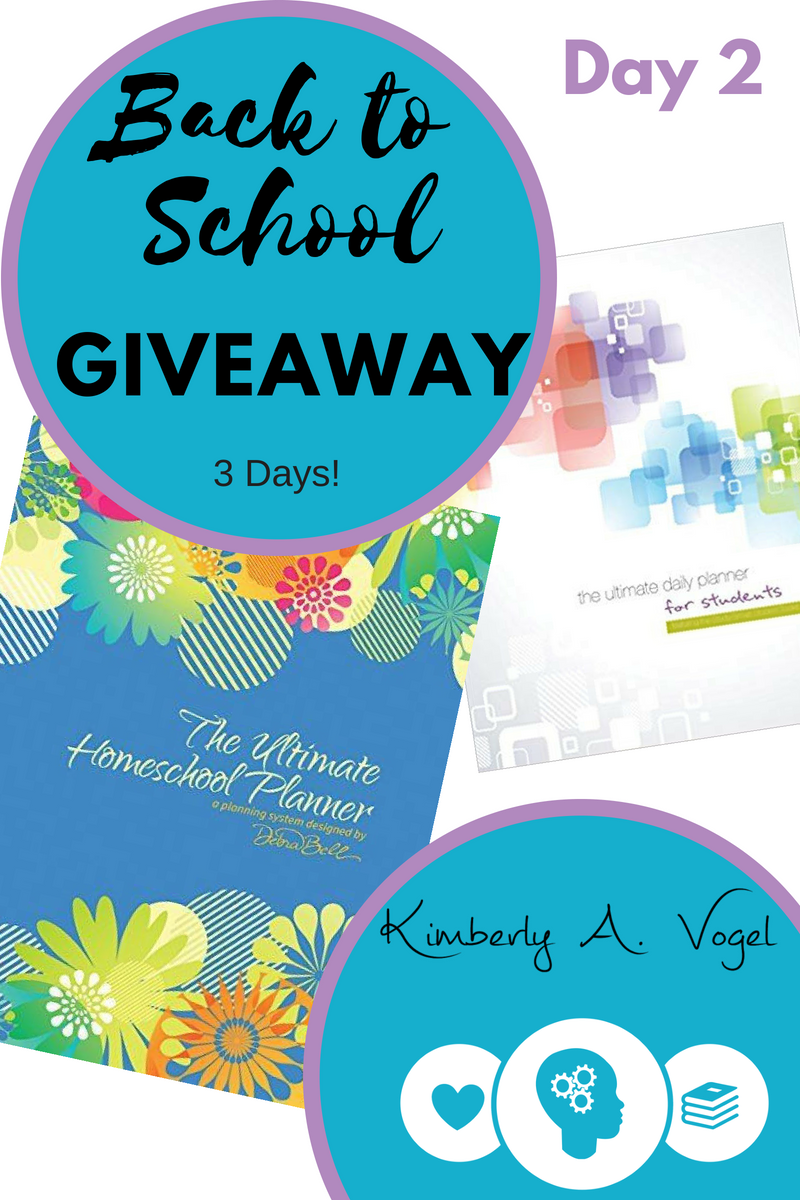 back to school homeschool planner giveaway kimberly a vogel
